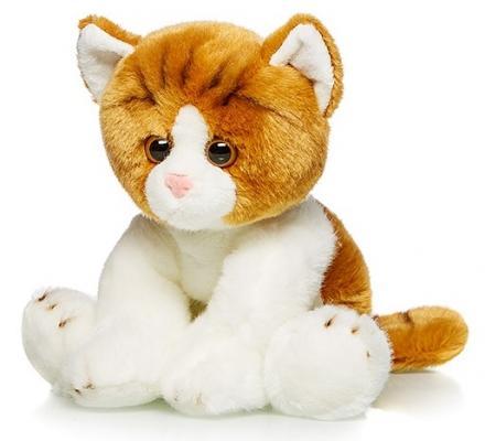 Мягкая игрушка Котик Рыжий MAXILIFE MT-TSC091426-30B искусственный мех трикотаж белый 30 см цена