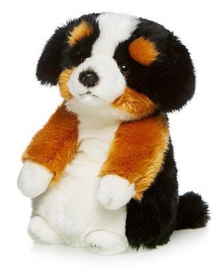 Мягкая игрушка Сенбернар Трехцветный MAXILIFE MT-TSC091410-24A искусственный мех трикотаж белый коричневый черный 24 см шампунь сенбернар