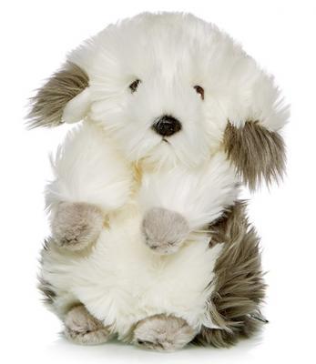 Купить Мягкая игрушка Бобтейл MAXILIFE MT-TSC091413-24 искусственный мех трикотаж белый серый 24 см, белый, серый, искусственный мех, трикотаж, Животные