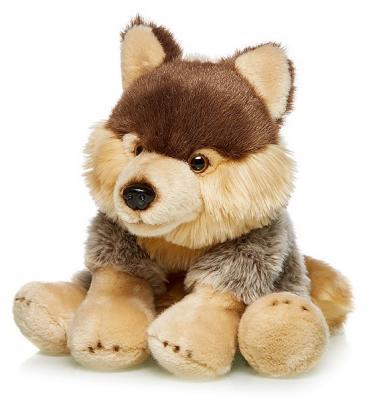 Мягкая игрушка Овчарка MAXILIFE MT-TSC091424-30 искусственный мех трикотаж коричневый бежевый 30 см стоимость