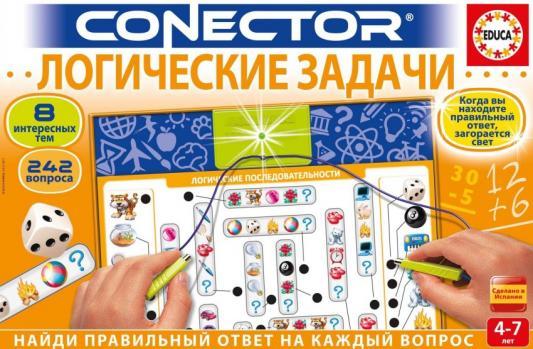 Научно-познавательный набор Educa Логические задачи 8 предметов научно познавательный набор good hand волшебный сад chou ta cd 016b