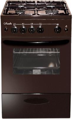 Газовая плита Лысьва ГП 400 М2С-2у коричневый плита газовая лысьва гп 400 м2с 2у белый стеклянная крышка