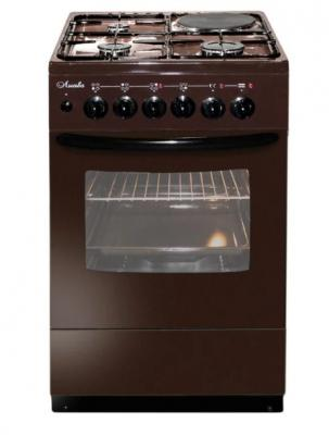 Комбинированная плита Лысьва ЭГ 401 МС-2у коричневый