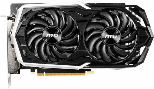 Видеокарта MSI GeForce GTX 1660 Ti ARMOR OC PCI-E 6144Mb GDDR6 192 Bit Retail pci e to