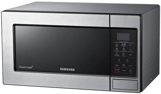 цена на Микроволновая печь Samsung ME83MRTS 800 Вт серебристый