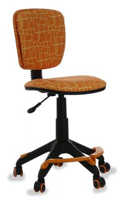 Кресло детское Бюрократ CH-204-F/GIRAFFE подставка для ног оранжевый жираф детское компьютерное кресло бюрократ кресло детское ch 204 f