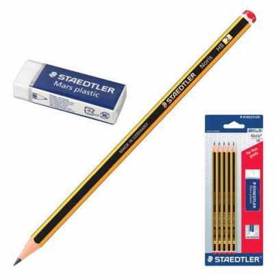 Набор графитовых карандашей Staedtler 181192 (120 A SBKD10) 5 шт 175 мм