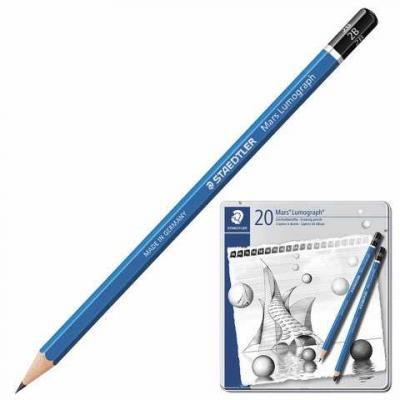 Набор карандашей Staedtler 100 G20 20 шт 175 мм