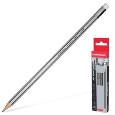 Карандаш графитовый Erich Krause Megapolis 32860 175 мм карандаш графитовый erich krause megapolis 32860 175 мм