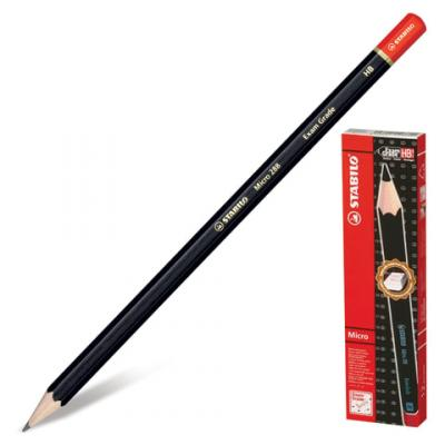 Карандаш графитовый Stabilo 181094 Exam Grade 175 мм карандаш графитовый stabilo 181095 othello 188 мм