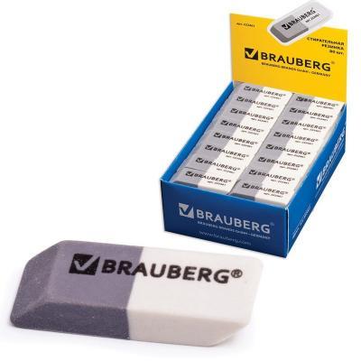 Ластик BRAUBERG 222461 1 шт прямоугольный