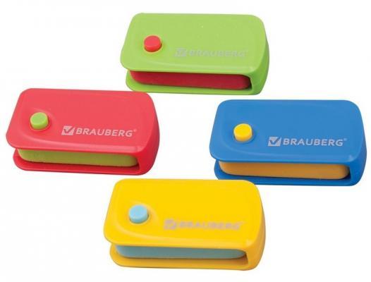 Резинка стирательная BRAUBERG 223594 1 шт прямоугольный резинка стирательная maped essentials soft 13 1 шт прямоугольный