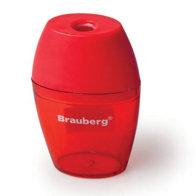 Фото - Точилка BRAUBERG Diamond пластик ассорти точилка brauberg diamond dual с контейнером пластиковая овальная 2 отверстия цвет ассорти 226941