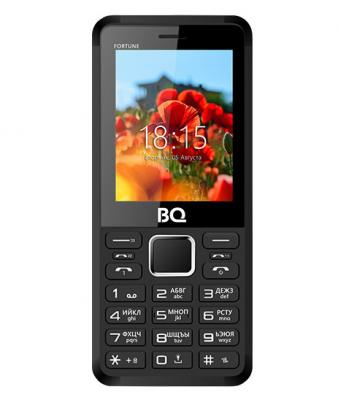 Мобильный телефон BQ 2436 Fortune красный черный сотовый телефон bq bq 2436 fortune power black green