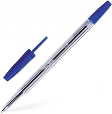 Ручка шариковая BRAUBERG Line синий 1 мм ручка шариковая автоматическая brauberg 141191 синий 0 35 мм