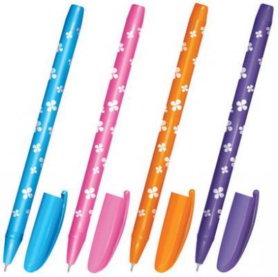 Ручка шариковая масляная BRAUBERG Fruity SF синий 1 мм шариковая ручка масляная brauberg x 100 синий