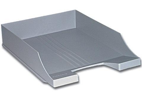 Лоток горизонтальный для бумаг BRAUBERG-CONTRACT, серый, 230880 аквашуз для девочки mursu цвет фуксия 208031 размер 29
