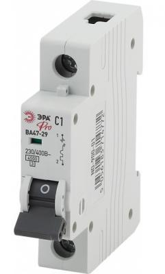Автомат ЭРА Pro NO-900-14 ва47-29 1p 25а кривая c (12/180/5040) автомат эра no 902 101 ва47 29 1p 10а кривая c 12 180 3780