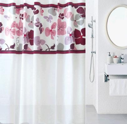 Штора для ванной комнаты Milardo 501V180M11 штора для ванной комнаты milardo flower lane 532v180m11
