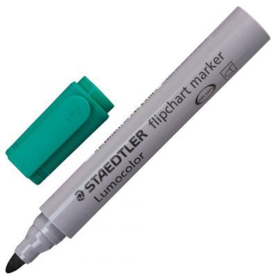 Фото - Маркер для флипчарта Staedtler 356-5 2 мм зеленый маркер для доски staedtler 301 5 1 мм зеленый
