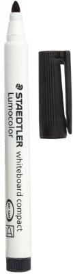 Фото - Маркер для доски Staedtler Lumocolor 2 мм черный 341-9 маркер для доски staedtler 301 5 1 мм зеленый
