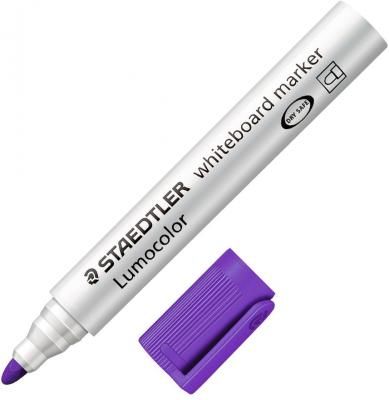 Фото - Маркер для доски Staedtler Lumocolor 2 мм фиолетовый 351-6 маркер для доски staedtler 301 5 1 мм зеленый