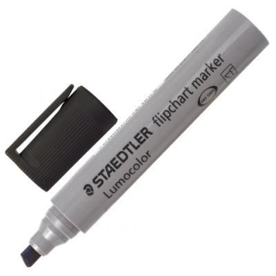 Маркер для флипчарта Staedtler 356 B-9 2-5 мм черный маркер для флипчарта staedtler lumocolor 2 5 мм 4 шт синий зеленый черный красный