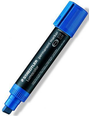 Маркер перманентный Staedtler Lumocolor 12 мм синий 388-3