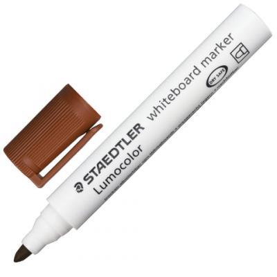 Фото - Маркер для доски Staedtler 151045 Lumocolor 2 мм коричневый маркер для доски staedtler 301 5 1 мм зеленый
