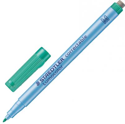 Фото - Маркер универсальный Staedtler Маркер универсальный 1 мм зеленый маркер для доски staedtler 301 5 1 мм зеленый