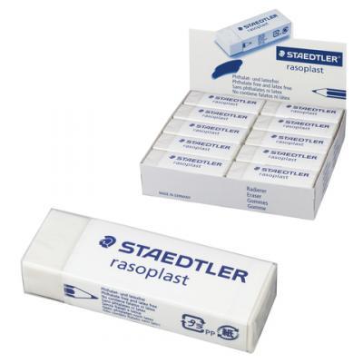 Резинка стирательная Staedtler 526 B20 1 шт прямоугольный staedtler ластик rasoplast 526 b20 белый