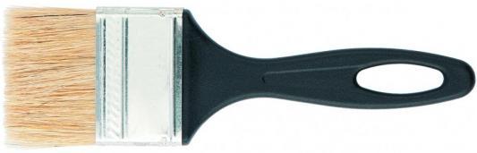 Картинка для Кисть СИБРТЕХ 82504  флейцевая 50*6 пластиковая ручка стандарт
