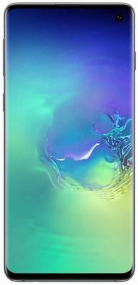 Смартфон Samsung Galaxy S10 128 Гб аквамарин (SM-G973FZGDSER) смартфон samsung galaxy s10 128 гб перламутровый sm g973fzwdser