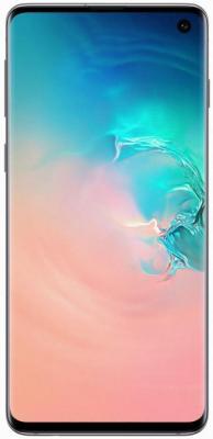Смартфон Samsung Galaxy S10 128 Гб перламутровый (SM-G973FZWDSER) смартфон samsung galaxy s8 sm g950f 64gb жёлтый топаз