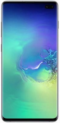 Смартфон Samsung Galaxy S10+ 128 Гб аквамарин (SM-G975FZGDSER) смартфон samsung galaxy s10 128 гб перламутровый sm g973fzwdser