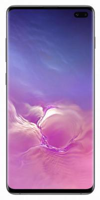 Смартфон Samsung Galaxy S10+ 1000 Гб черная керамика (SM-G975FCKHSER) смартфон samsung galaxy s8 sm g950f 64gb жёлтый топаз