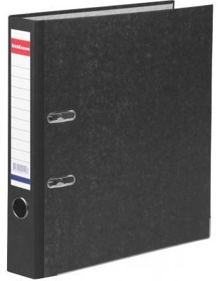 """Папка-регистратор ERICH KRAUSE, с мраморным покрытием, """"содержание"""", 50 мм, черный корешок, 4671 цены"""