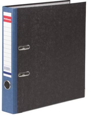 Папка-регистратор ERICH KRAUSE, с мраморным покрытием, содержание, 50 мм, синий корешок, 414 папка регистратор 80 мм эконом без покрытия