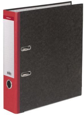 """Папка-регистратор ERICH KRAUSE, с мраморным покрытием, """"содержание"""", 70 мм, красный корешок, 410 цены"""