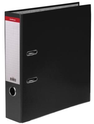 Папка-регистратор ERICH KRAUSE Стандарт, с покрытием из ПВХ, 70 мм, черная, 269 цена