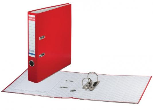 """Папка-регистратор ERICH KRAUSE """"Стандарт"""", с покрытием из ПВХ, 50 мм, красная, 281 цены"""