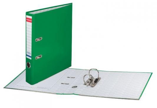 """Папка-регистратор ERICH KRAUSE """"Стандарт"""", с покрытием из ПВХ, 50 мм, зеленая, 275 цены"""