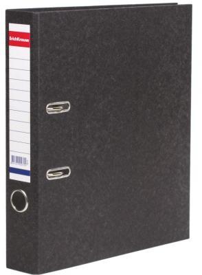 """Папка-регистратор ERICH KRAUSE """"Basic"""", с мраморным покрытием, 50 мм, без уголка, 70 цены"""