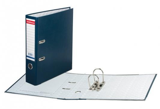 """Папка-регистратор ERICH KRAUSE """"Бизнес"""", с покрытием из ПВХ, 70 мм, синяя, 198 цены"""
