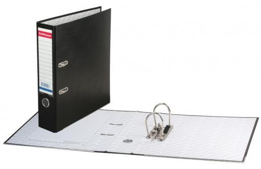 Папка-регистратор ERICH KRAUSE Бизнес, с покрытием из ПВХ, 70 мм, черная, 202 цена