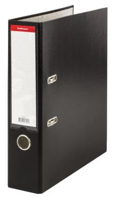 Папка–регистратор ERICH KRAUSE Granite, с покрытием ПВХ, 70 мм, черная, 43516 цена