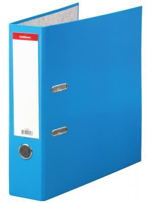 """Папка–регистратор ERICH KRAUSE """"Neon"""", ламинированная, 70 мм, голубая, 45396 цены"""