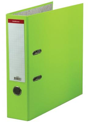 """Папка–регистратор ERICH KRAUSE """"Neon"""", ламинированная, 70 мм, зеленая, 45397 цены"""