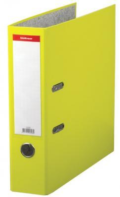 """Папка–регистратор ERICH KRAUSE """"Neon"""", ламинированная, 70 мм, желтая, 45398 цены"""