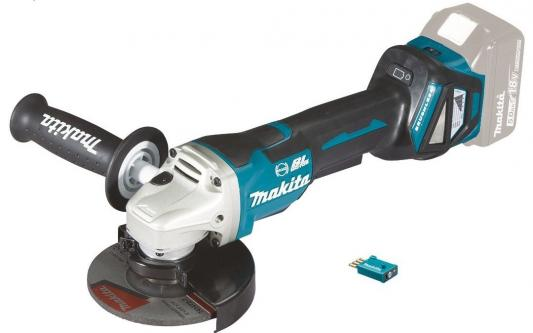 Шлифмашина угл MAKITA DGA518ZU ф125мм, 18В, Li-ion, 3000-8500\\м, AWS/Bluetooth, anti-rest charger for makita li ion battery bl1830 bl1430 dc18rc dc18ra dc18rct 100 240v 50 60hz